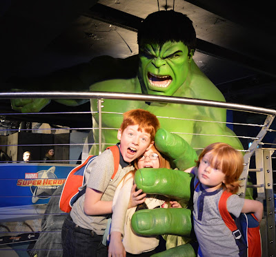 Madame Tussauds London including Star Wars,  A Review - Marvel The Incredible Hulk