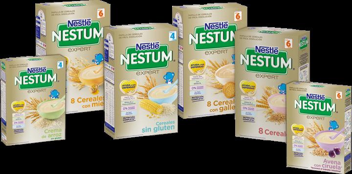La opini n de mam desayunando papillas nestum de nestl - Cereales sin gluten bebe 3 meses ...