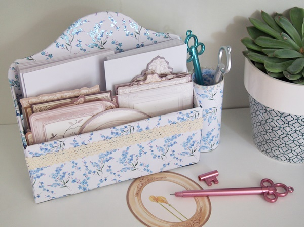 DIY : range courrier en carton