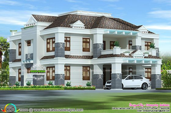 Full Vastu based Colonial model house