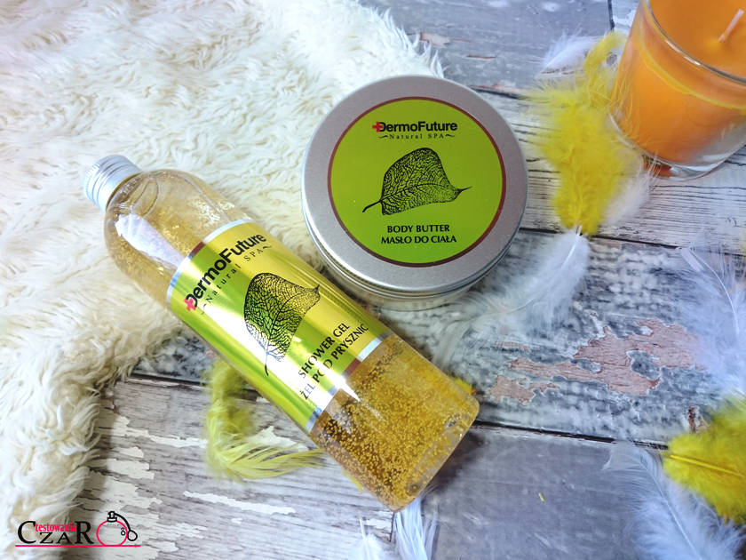Zestaw Natural Spa Sun Yellow z ekstraktami z melona i papai Dermo Future