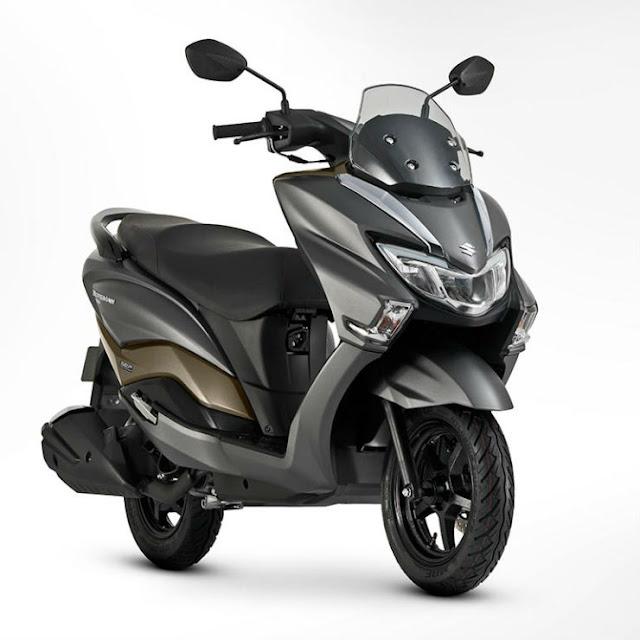 New 2018 Suzuki Burgman Street 125 alloy wheel