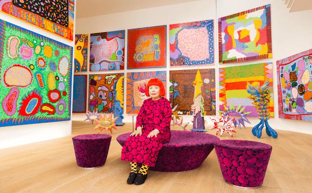 【波點女王】草間彌生最大作品展 明年東京國立新美術館開幕