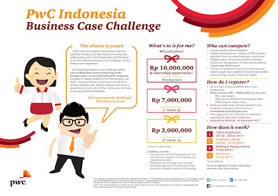 PwC Indonesia Business Case Challenge - 2017