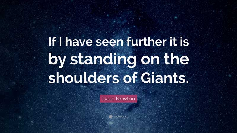 Standing on the shoulder of marketing giants