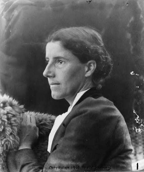 Photo of Charlotte Perkins Gilman.  Image source: http://upload.wikimedia.org/wikipedia/commons/0/00/Charlotte_Perkins_Gilman_c._1900.jpg
