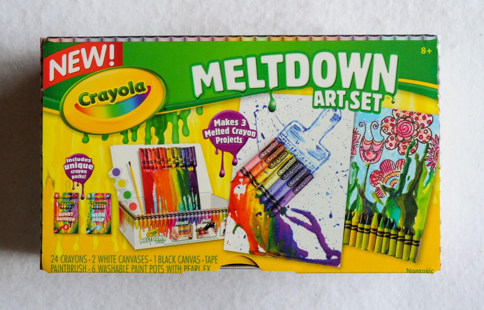 Crayola Meltdown Crayons Art Set: What\'s Inside the Box | Jenny\'s ...