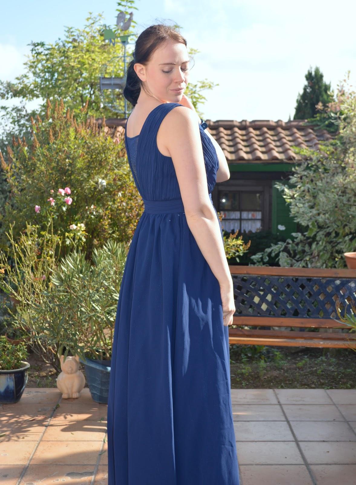 Atemberaubend Blaue Kleider Für Hochzeitsparty Fotos - Brautkleider ...