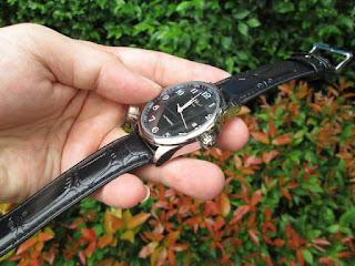 Jam Tangan Automatic Mechanical Winner JX005 Classic Date Self Winding Skeleton Black Leather Strap