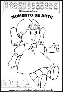 Projeto Pátria, desenho de boneca