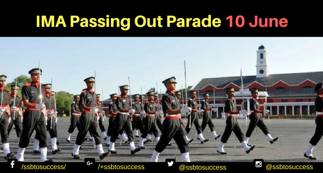IMA Passing Out Parade 10 June