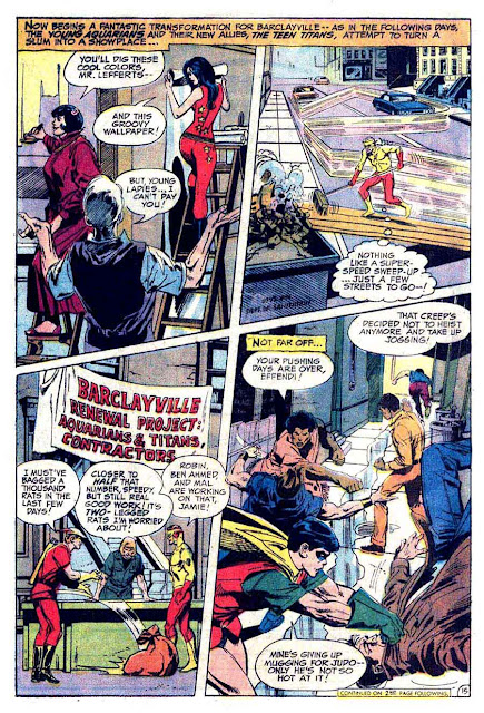Brave and the Bold v1 #102 dc comic book page art by Neal Adams