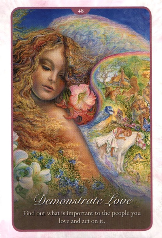 """Love Oracle Card Readings :Whispers of Love: """"Demonstrate Love in Your Life"""""""