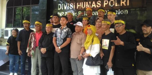 Sambangi Mabes Polri, Pendukung Soeharto Dorong Pemeriksaan Ahmad Basarah