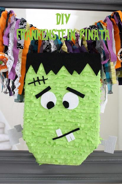 Diy Frankenstein Pinata - Eighteen25