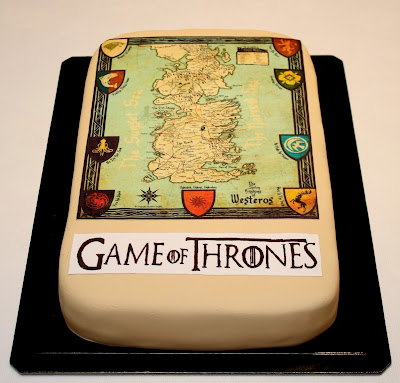 Resultado de imagem para Bolos com o tema do seriado Game of Thrones