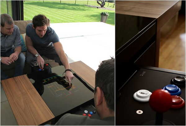 arcade gaming table