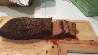 Smoked Brisket Sliced