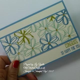 Sunshine Saying Blue Card