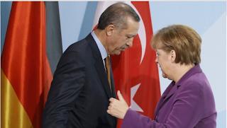 Erdoğan Merke görüştü
