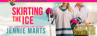 Release Blast & Giveaway: Skirting The Ice by Jennie Marts