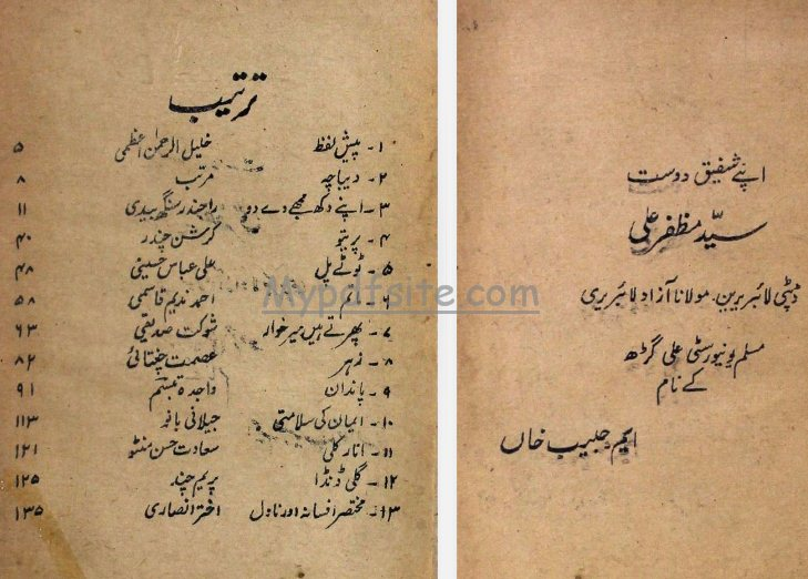 behtareen-afsane urdu book