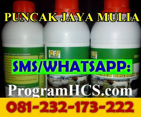 Jual SOC HCS Puncak Jaya mulia