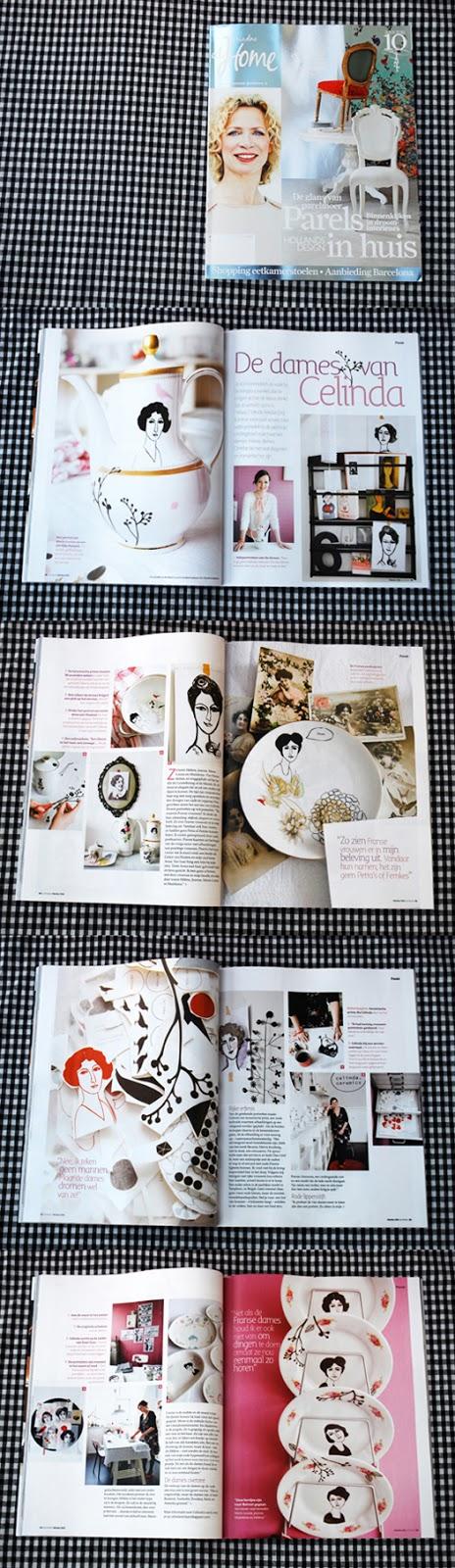 Celinda les dames in ariadne at home magazine for Magazine ariadne at home