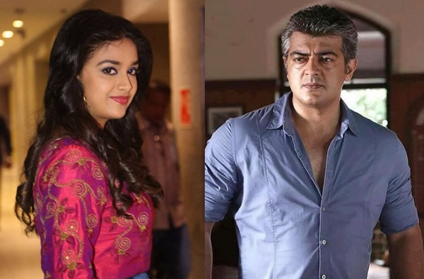 OFFICIAL : KEERTHY SURESH To Join Hands With Thala AJITH