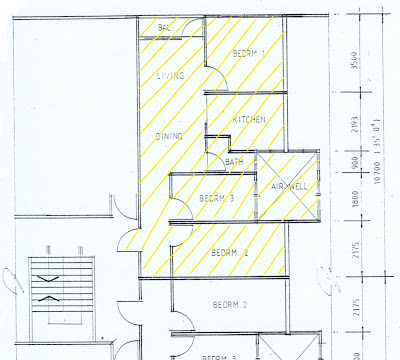 Pandan Perdana shop apartment layout plan