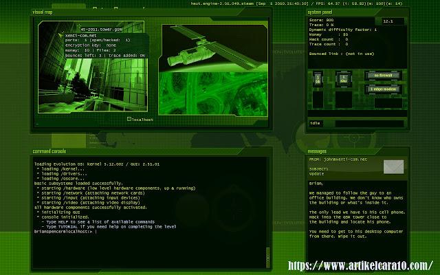 game bertema hacker untuk pc