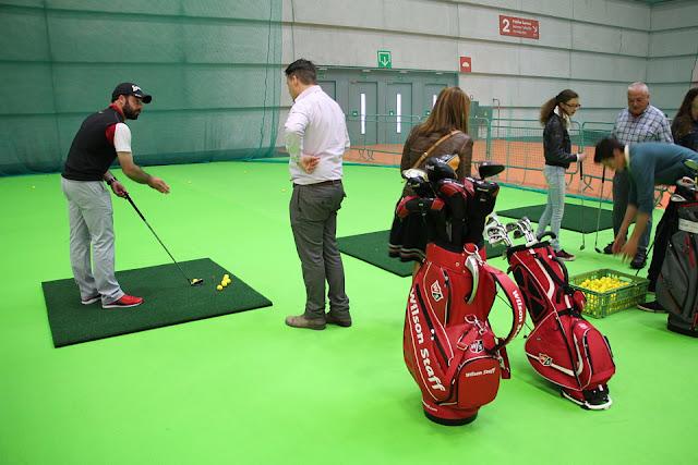 Zona de golf en Expovacaciones