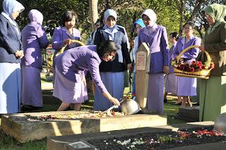 Ziarah Nasional HUT ke-52 Dharma Pertiwi
