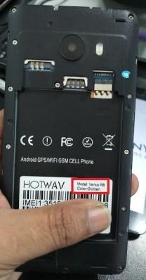 Gsmhalifworksolution: Hotwav Venus R8 White Display Fix