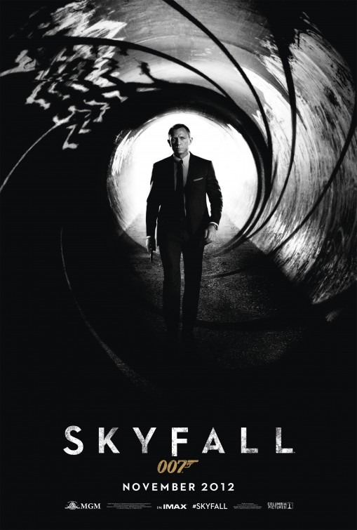 james bond skyfall poster teaser trailer