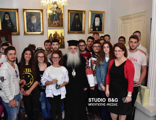 Τα ονομαστήρια του γιόρτασε ο Μητροπολίτης Αργολίδας Νεκτάριος