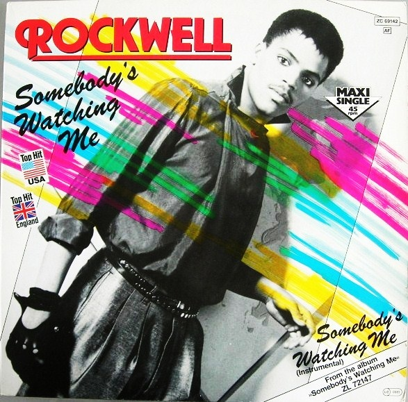 Music Rewind Rockwell Somebody S Watching Me Remix