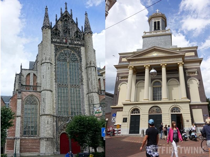 hooglandse kerk hartebrugkerk Leiden Netherlands churches