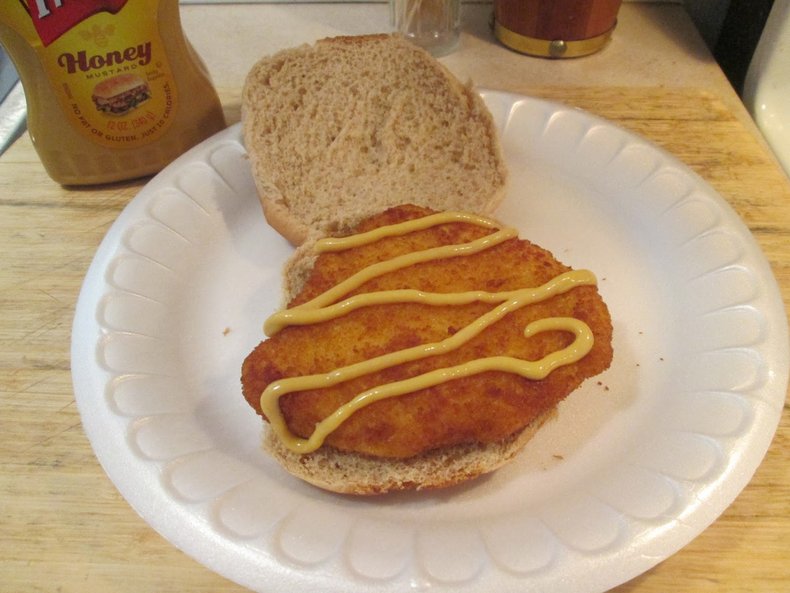 Diab2Cook Lunch Today Breaded Chicken Breast Cutlet Sandwich