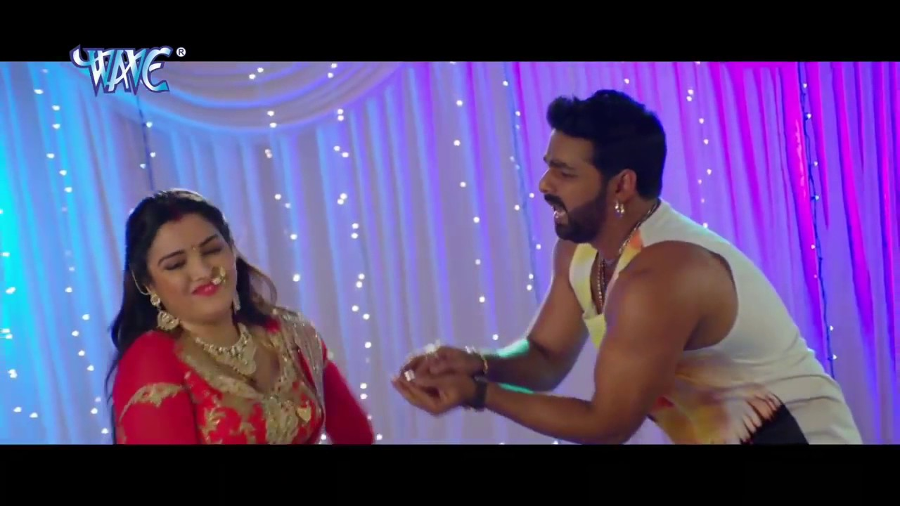 Pawan Singh  Amrapali Dubey Shoot New Item Song For Film -5243