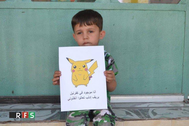 Menyedihkan! Anak Suriah Ini Gunakan Karakter Pokemon Agar Nasib Mereka Bisa Ditemukan Oleh Dunia