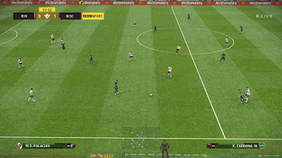 PES 2019 Scoreboard BBC Sports by Ginda01