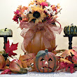 Bella's Crafty Mom: Fall/Halloween Decorating