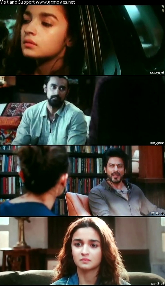 Dear Zindagi 2016 Hindi pDVDRip x264 700MB