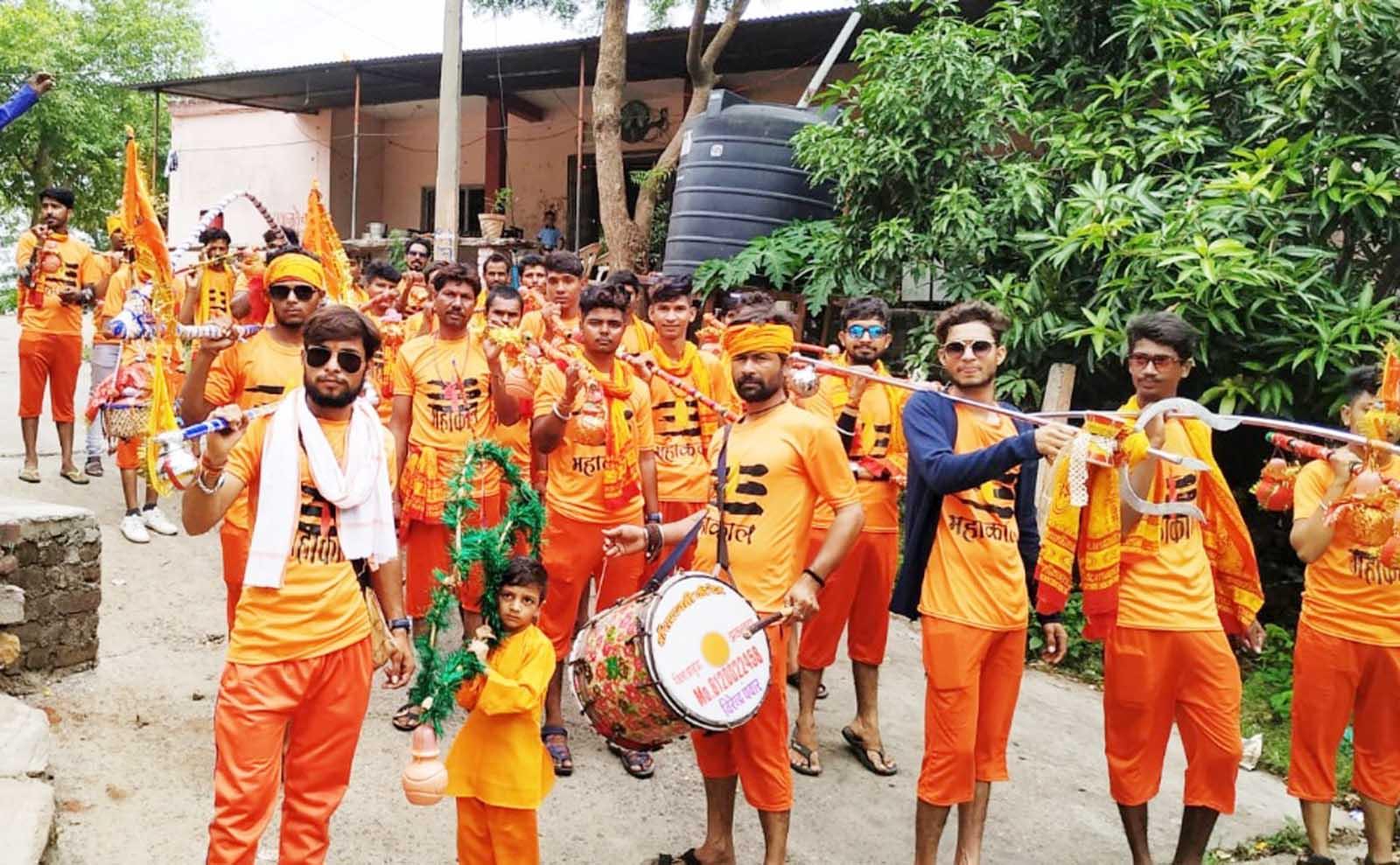 Jhabua News- श्रृंगेश्वर तीर्थ से कावड़ यात्रा उज्जैन के लिए हुई रवाना