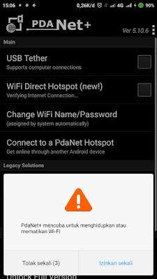 mengizinkan menghidupkan wifi