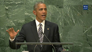 President Obama Speaks at the United Nations General Assembly