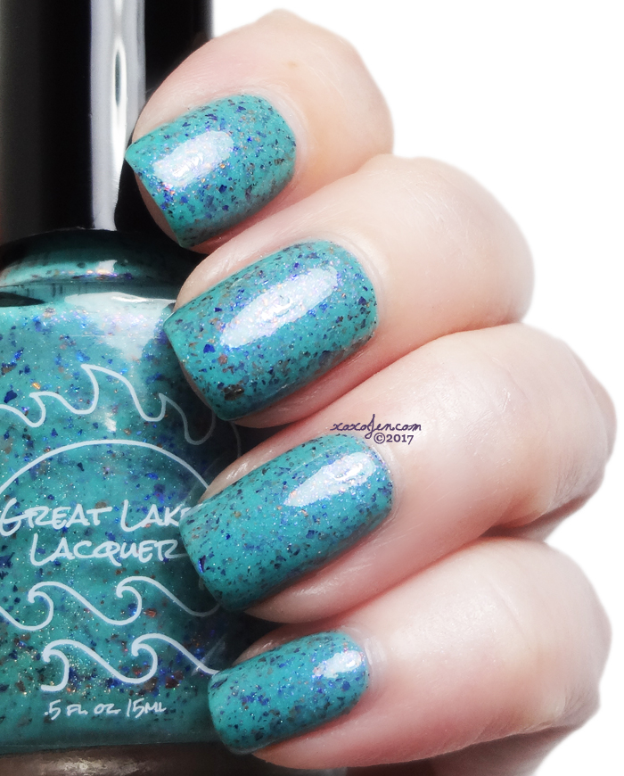 xoxoJen's swatch of Great Lakes Lacquer Hope Always Floats