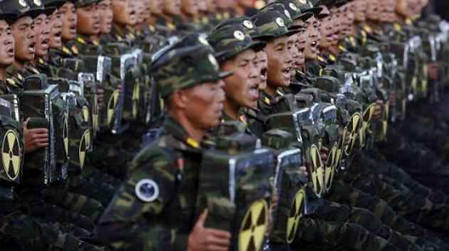 BAHAYA...!!! Pasukan Elite Korea Utara DIpersenjatai Ransel Nuklir