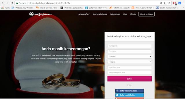 BaitulJannah.Com portal pilihan untuk mencari jodoh BaitulJannah.Com portal khas mencari jodoh
